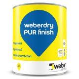 weberdry PUR finish