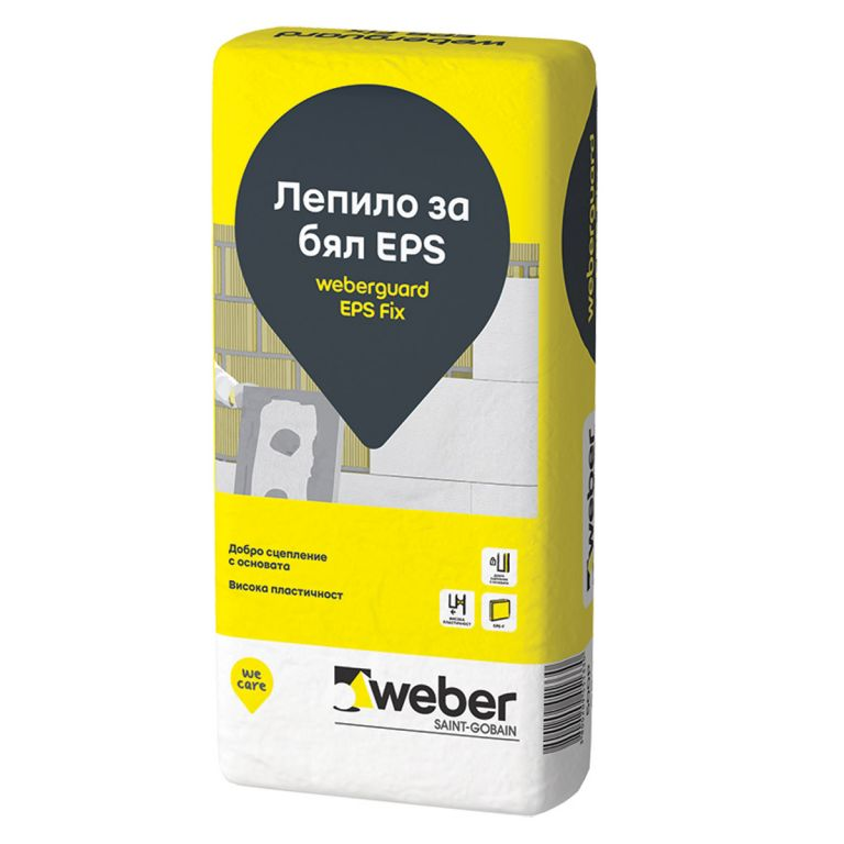 weberguard EPS Fix - лепило за бял EPS